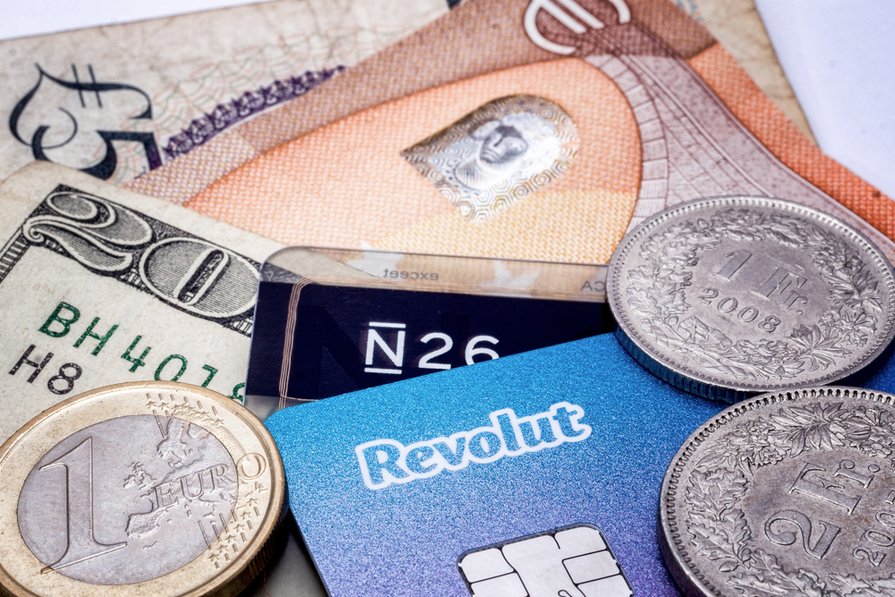Revolut N26 cartes de crédit