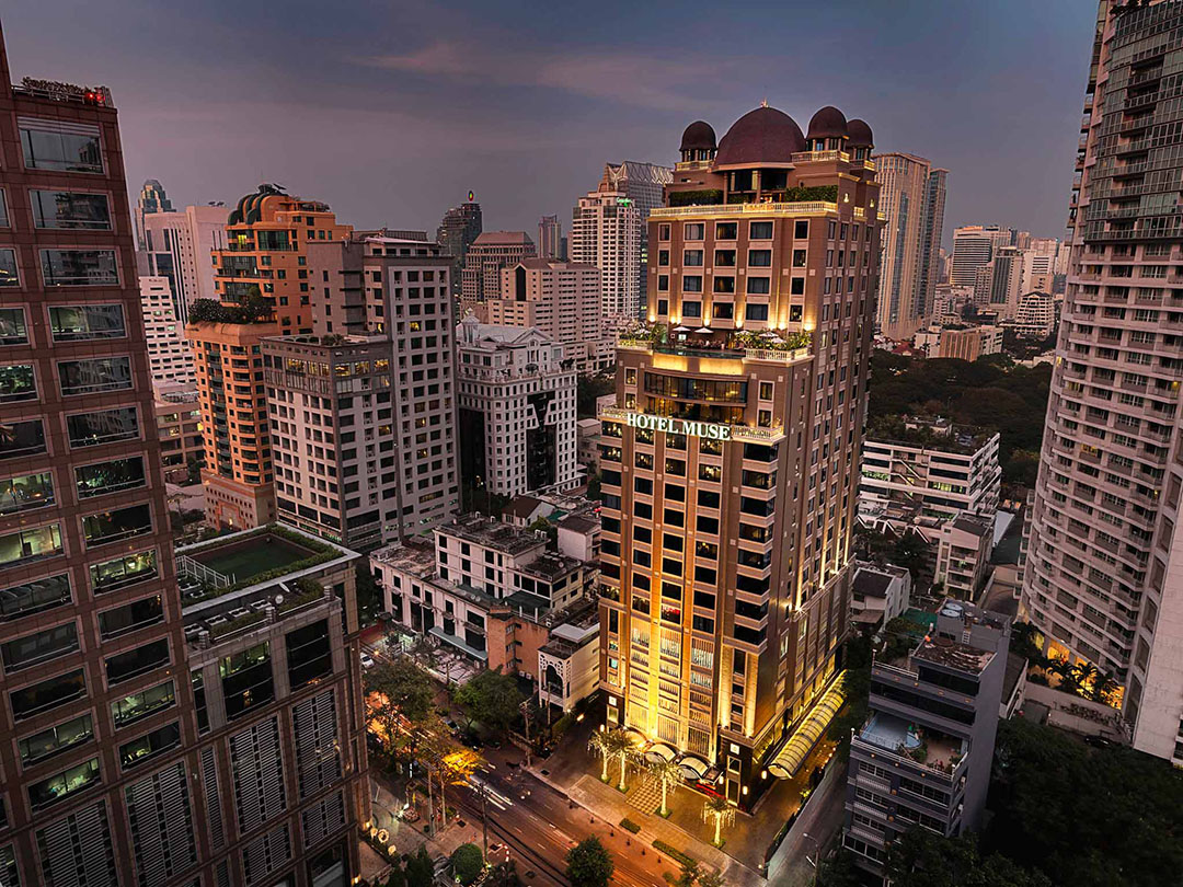 Hotel Muse Bangkok Langsuan – MGallery Collection | Bangkok